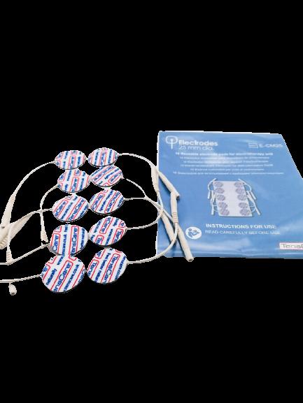 Apaļie elektrodi EMS ierīcēm